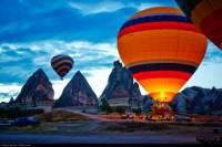 1-hour Hot Air Balloon Flight Over the Fairy Chimneys in Cappadocia
