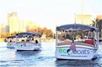 18' Electric Boat Rental in Ft. Lauderdale