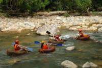 2-Day Endau Rompin National Park Wilderness Adventure Including Tubing, 4x4, and Hiking