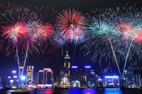 Hong Kong New Year's Eve Fireworks Cruise