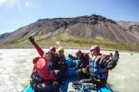 3-Day Rafting Tour from Hafgrímsstaðir: Grade 4 Rafting on the East Glacial River