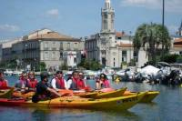 3 Hour Sea kayak trip in The Canals of Sete, South of France