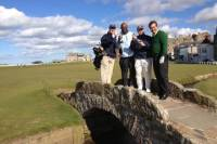 4-Day Old Course St Andrews Golfing Experience with Shopping and Sightseeing in Edinburgh