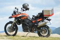 800cc Motorcycle Rental from Turda