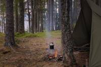 A Day and Night Camping in Trondheim's Wilderness