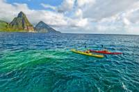 All-Inclusive Anse Chastanet Resort Beach Day: Piton Kayaking, Snorkeling and Powerboat Adventure