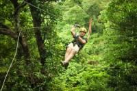 Antigua Zipline Canopy Adventure from St John's