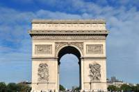 Arc de Triomphe Walking Tour with Access to the Summit