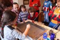 Art of Turkish 'Ebru' Marbling Workshop in Istanbul