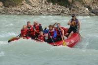 Athabasca River Whitewater Rafting Class II Rapids