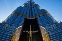 AtMosphere Lounge at 122nd floor of Burj Khalifa Tower with Private Transfers