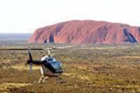 Ayers Rock Helicopter Tour to Uluru, Kata Tjuta & Lake Amadeus: 55-minute flight