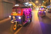 Bangkok by Night: Food, Temples and Markets by Tuk-Tuk