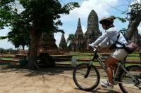 Bangkok to Ayutthaya by Road Bicycle