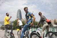 Barcelona Electric Bike Tour: Montjuïc Cable Car, Olympic Ring, Sagrada Familia, Park Güell and Camp Nou