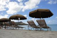 Beach Umbrella and Chair Set Rental