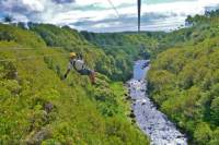 Big Island Adventure Combo: Helicopter, Zipline and Lava Tour