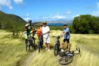 Biking Round The Nevis Island