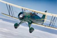 Biplane Rides Over Monterey Bay from Watsonville