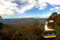 Blue Mountains Day Tour Including River Cruise and Wildlife Park with Optional Scenic World Upgrade