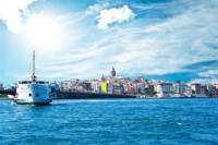 Bosphorus Cruise and Golden Horn Tour Including Cable Car from Istanbul