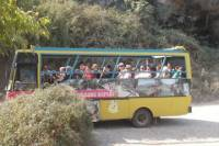 Cabrio Bus Safari Day Tour with a Visit to Antique City, Seleukeia and Roman Village in the Taurus Mountains