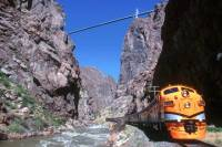 Canon City Whitewater Rafting Experience with Train Ride