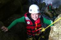 Canyoning at Wilderness