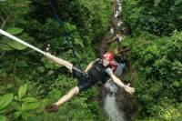 Canyoning in the Lost Canyon