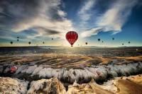 Cappadocia Hot Air Balloon with Daily Cappadocia Small Group Tour