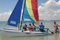 Catamaran Sailing Lesson or Boat Rental in Biscayne Bay