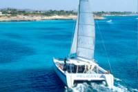 Champagne Breakfast and Lunch Cruise with Snorkeling