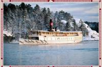 Christmas Cruise Lunch Buffet in the Stockholm Archipelago
