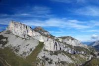 Climbing day in Leysin