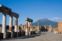 Coach Tour to Pompeii and Mt Vesuvius