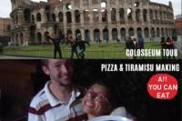 Colosseum Tour and Pizza Making in Rome