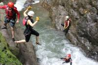 Costa Rica Canyoning Adventure from La Fortuna