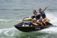 Curacao Shore Excursion: Jet Ski or Aquaboat Snorkel Tour
