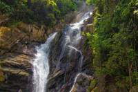 Day Trip: Waterfall Rappelling and Zipline Adventure in Dangriga