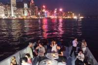 Deluxe Symphony of Lights Hong Kong Harbour Night Cruise by Luxury Yacht