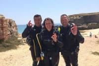 Discover Scuba Diving in the Coast of the Light in Costa de la Luz