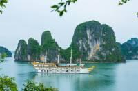Dragon Legend Overnight Halong Bay Cruise with Hanoi Pickup