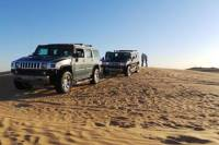 Dubai Desert Hummer Adventure with BBQ Dinner
