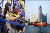 Dubai Dune Buggy plus a Dhow Cruise