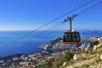 Dubrovnik Combo: Cable Car Ride to Mount Srd and Old Town Tour