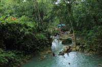 Dunn's River Falls, White River Tubing and Blue Hole Tour plus Shopping
