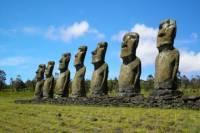 Easter Island Moai Archaeology Tour: Ahu Akivi, Ahu Vinapu and Puna Pau