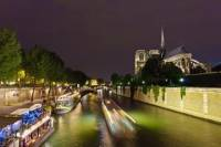 Eiffel Tower Dinner, Seine River Cruise and Moulin Rouge Show by Minivan