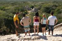 Ek Balan Tour from Cancun Including Cenote Maya Park