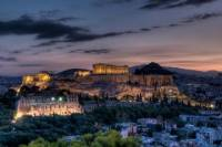Electric Bike Tour of Athens by Night